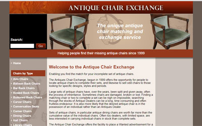 Antique Chair Matching Service, click for details