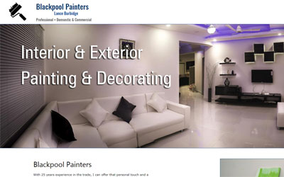 Painting in Blackpool and the surrounding areas