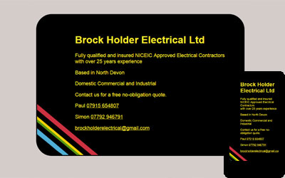 Brock Holder Electrical, click for details