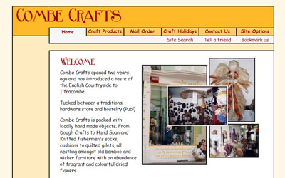 Combe Crafts, click for details