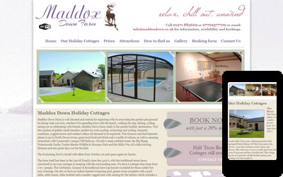Maddox Down Holiday Cottage, Exmoor