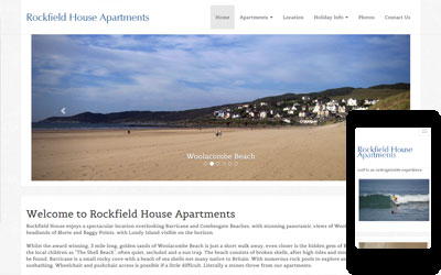 Rockfield House Holiday Apartments, Woolacombe