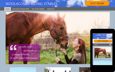 Woolacombe Riding Stables, click for details