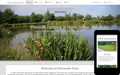 Warcombe Farm Campsite, click for details