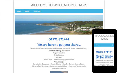 Woolacombe Taxis, click for details